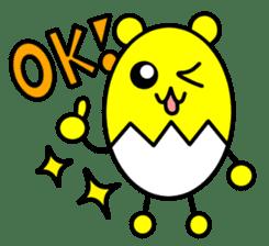 Kumatama and funny friends sticker #102316