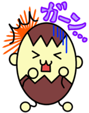 Kumatama and funny friends sticker #102321