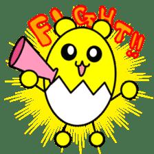 Kumatama and funny friends sticker #102341