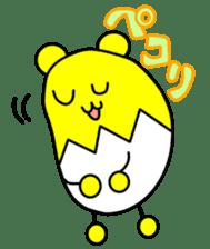 Kumatama and funny friends sticker #102343