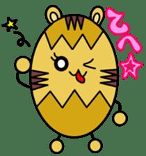 Kumatama and funny friends sticker #102345