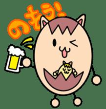 Kumatama and funny friends sticker #102349