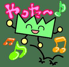 Kumatama and funny friends sticker #102355