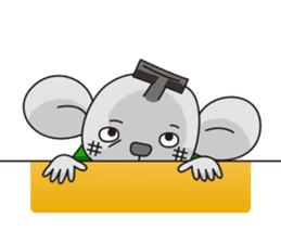 Merry and Hurry have fun everyday sticker #102404