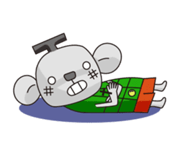 Merry and Hurry have fun everyday sticker #102429