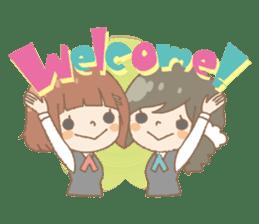 We like Gosen! Sakura and Izumi sticker #102796