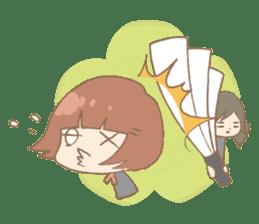We like Gosen! Sakura and Izumi sticker #102824