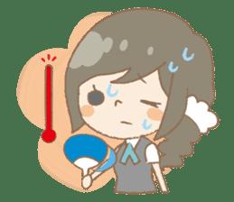 We like Gosen! Sakura and Izumi sticker #102827