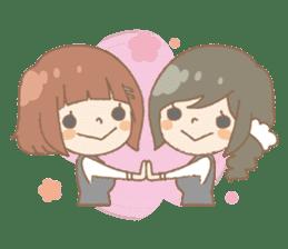 We like Gosen! Sakura and Izumi sticker #102833