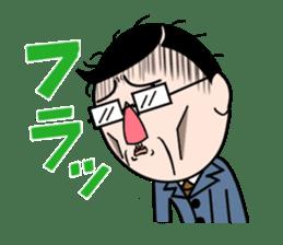 I Go for it! Day-to-day of Mr. Suzuki sticker #102965