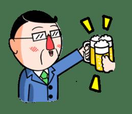 I Go for it! Day-to-day of Mr. Suzuki sticker #102982
