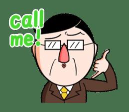 I Go for it! Day-to-day of Mr. Suzuki sticker #102989