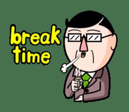 I Go for it! Day-to-day of Mr. Suzuki sticker #102994