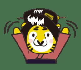 Tiger drama sticker #103039