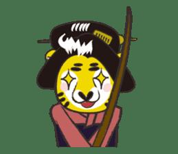 Tiger drama sticker #103055