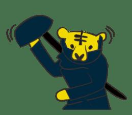 Tiger drama sticker #103066