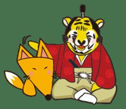 Tiger drama sticker #103074