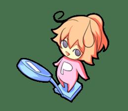 Kigurumi P-chan sticker #103088