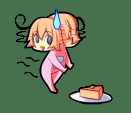 Kigurumi P-chan sticker #103094