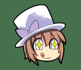 Kigurumi P-chan sticker #103109