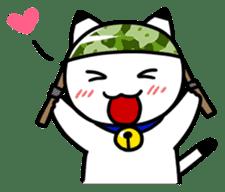 Captain cat Ticho sticker #103356