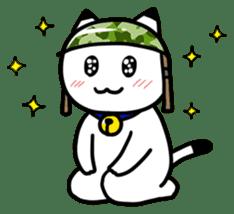 Captain cat Ticho sticker #103357