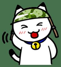 Captain cat Ticho sticker #103358