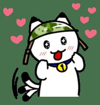 Captain cat Ticho sticker #103359