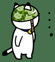 Captain cat Ticho sticker #103363