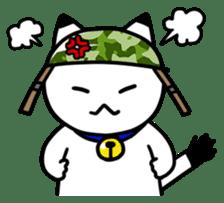 Captain cat Ticho sticker #103365
