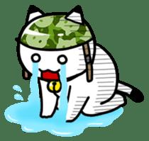 Captain cat Ticho sticker #103366