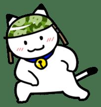 Captain cat Ticho sticker #103368