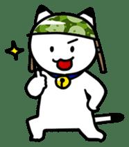 Captain cat Ticho sticker #103369