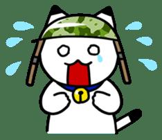 Captain cat Ticho sticker #103370