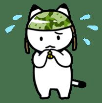 Captain cat Ticho sticker #103374