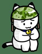Captain cat Ticho sticker #103375