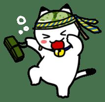 Captain cat Ticho sticker #103380