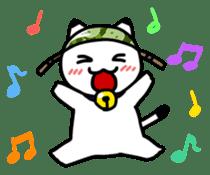 Captain cat Ticho sticker #103381
