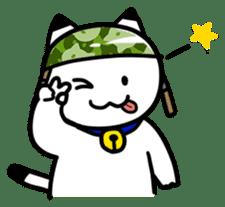 Captain cat Ticho sticker #103382