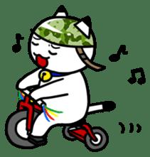 Captain cat Ticho sticker #103384