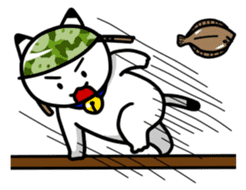 Captain cat Ticho sticker #103385