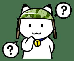 Captain cat Ticho sticker #103386