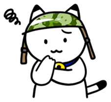 Captain cat Ticho sticker #103387
