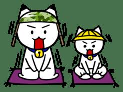 Captain cat Ticho sticker #103388