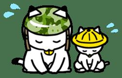 Captain cat Ticho sticker #103389