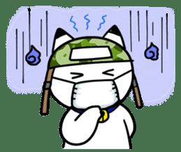Captain cat Ticho sticker #103390