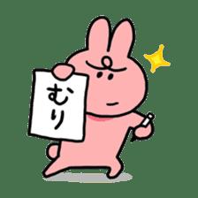 MURI USAGI sticker #103933