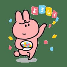 MURI USAGI sticker #103954