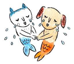 Mermaid and Friends sticker #104047