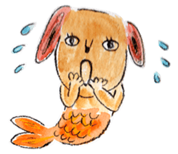 Mermaid and Friends sticker #104049